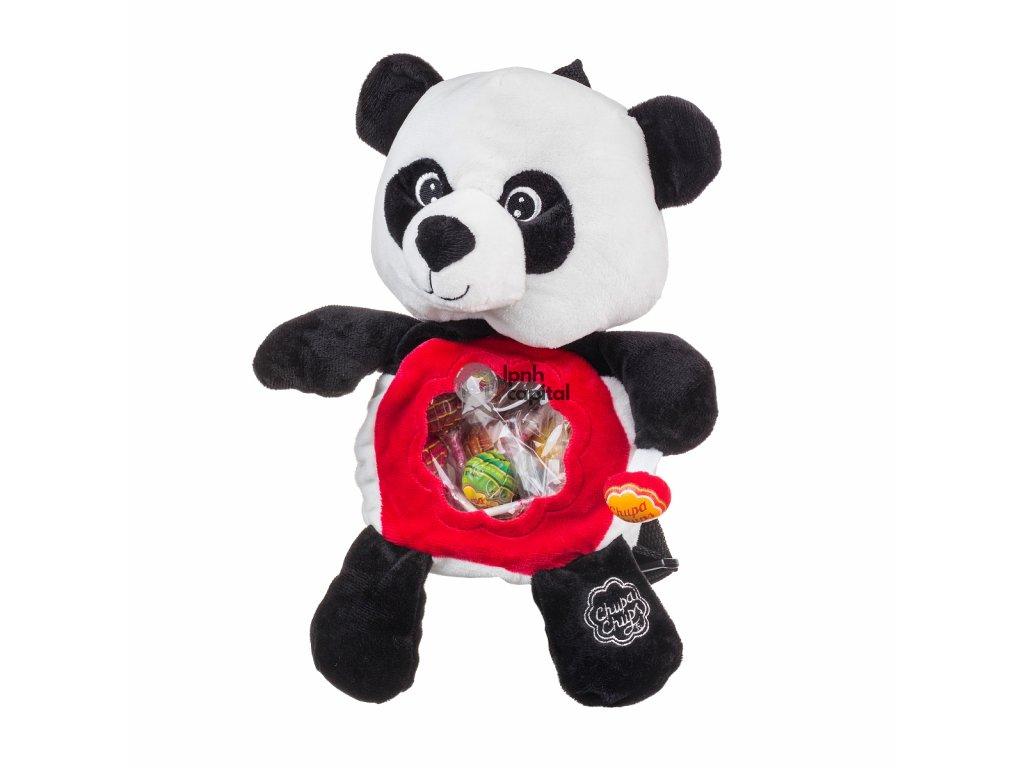 Batůžek panda vzhůru