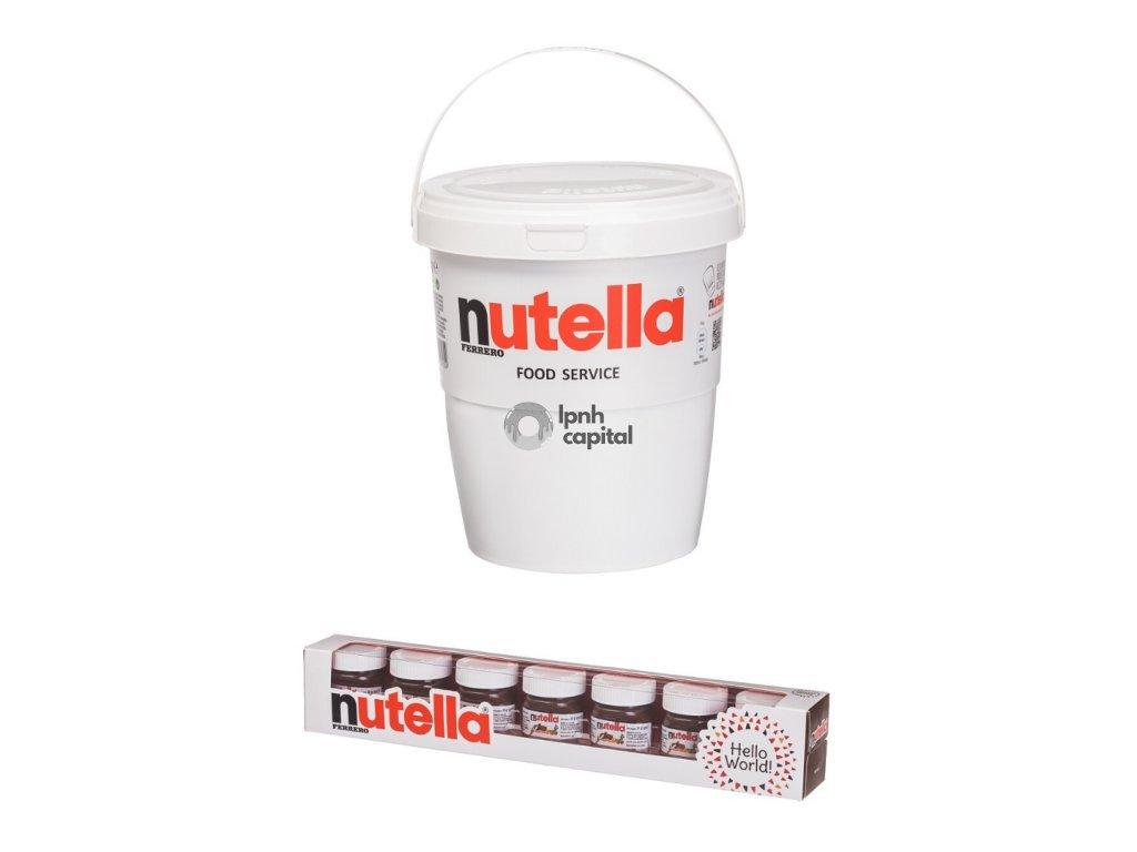 Balíček pro milovníky Nutelly