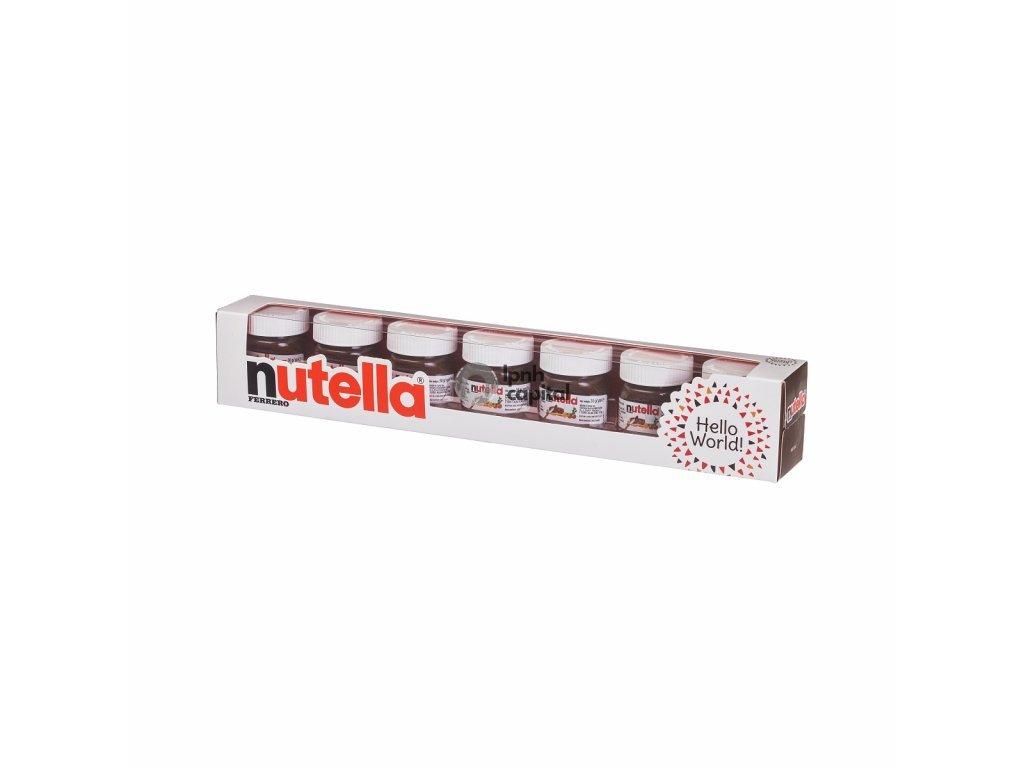 Ferrero Nutella World 7 x 30g - DOPRAVA ZADARMO