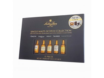 Anton Berg Single Malts Scotch Collection 230g